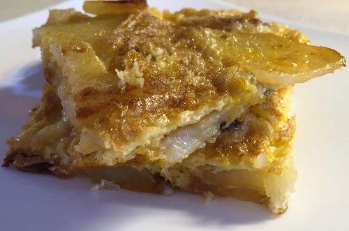 Frittata di patate senza glutine