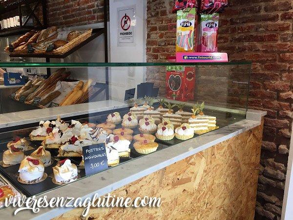 Sana Locura forno-pasticceria senza glutine Madrid